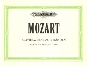 Oeuvres A 4 Mains MOZART Partition Piano - laflutedepan
