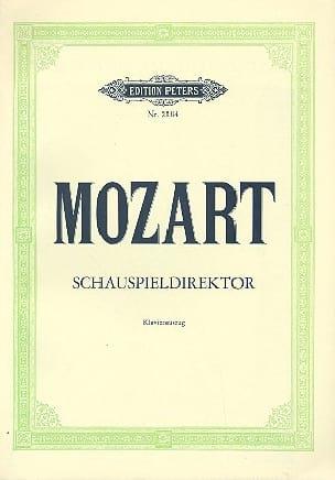 MOZART - Der Schauspieldirektor K 486 - Noten - di-arezzo.de