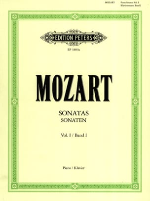 MOZART - Sonatas. Volume 1 - Sheet Music - di-arezzo.co.uk