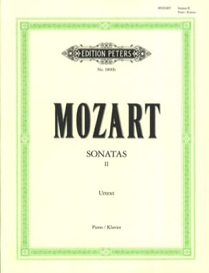 Sonates - Volume 2 MOZART Partition Piano - laflutedepan