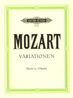 MOZART - Variations - Partition - di-arezzo.fr