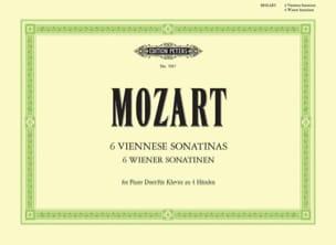 Sonatines Viennoises. 4 Mains - MOZART - Partition - laflutedepan.com