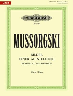Modest Moussorgsky - Bilder einer Ausstellung - Noten - di-arezzo.de