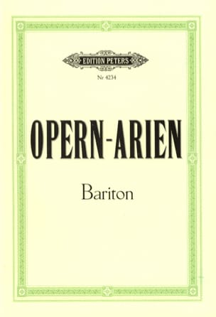 - Opern Arien Baritone - Sheet Music - di-arezzo.com