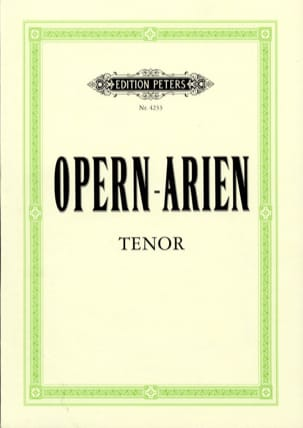 - Opern Arien Tenor - Sheet Music - di-arezzo.co.uk