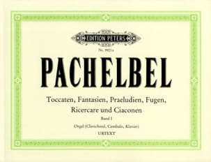 Oeuvre Pour Orgue Volume 1 PACHELBEL Partition Orgue - laflutedepan