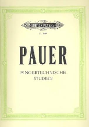 Pauer - Fingertechische Studien - Partition - di-arezzo.fr