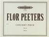 Concert Piece op. 52a Flor Peeters Partition Orgue - laflutedepan
