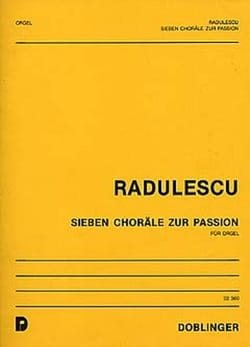 Michael Radulescu - 7 Choräle Zur Passion - Partition - di-arezzo.fr