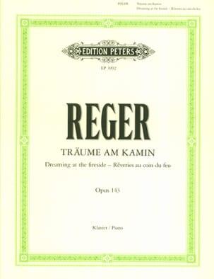 Träume Am Kamin Op. 143 Max Reger Partition Piano - laflutedepan