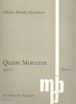 Morceaux Op. 11 - Nicolai Rimsky-Korsakov - laflutedepan.com