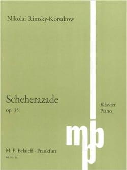 Nicolai Rimsky-Korsakov - Scheherazade Op. 35 - Partition - di-arezzo.fr