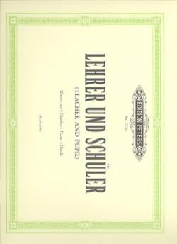 Lehrer Und Schüler 4 Mains - Partition - Piano - laflutedepan.com