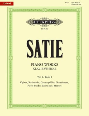 Erik Satie - Klavierwerke Volume 1 - Sheet Music - di-arezzo.co.uk