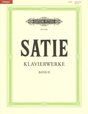 Erik Satie - Klavierwerke Volume 2 - Partition - di-arezzo.fr