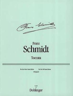 Toccata - Franz Schmidt - Partition - Piano - laflutedepan.com
