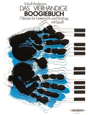 Boogiebuch 4 Mains Anderson Scholl Partition Piano - laflutedepan