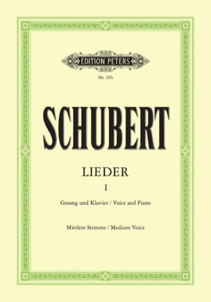SCHUBERT - Lieder Volume 1 - Medium Voice - Sheet Music - di-arezzo.co.uk