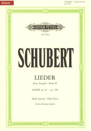 Lieder Volume 4 Voix Haute (Fischer-Diskau) - laflutedepan.com