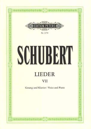 Lieder Volume 7 - Ton Original - SCHUBERT - laflutedepan.com