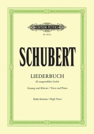 SCHUBERT - Liederbuch. Hohe Stimme - Noten - di-arezzo.de