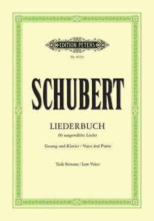 Liederbuch. Voix Grave - SCHUBERT - Partition - laflutedepan.com