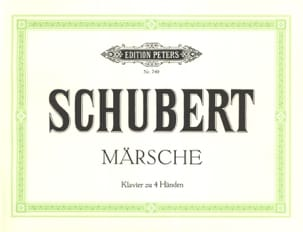 Marches. 4 Mains SCHUBERT Partition Piano - laflutedepan