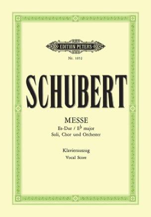 SCHUBERT - Mass in E flat Major D 950 - Sheet Music - di-arezzo.co.uk