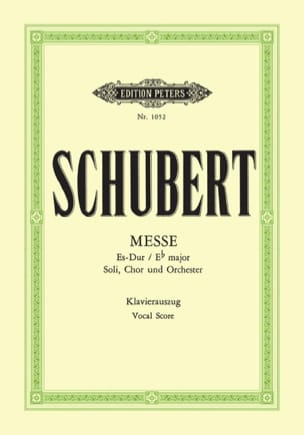 Messe En Mi bémol majeur D 950 - SCHUBERT - laflutedepan.com