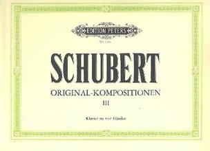Original Kompositionen Volume 3. 4 Mains SCHUBERT laflutedepan