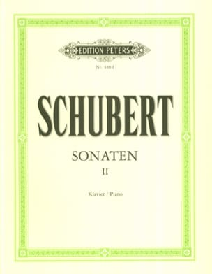 SCHUBERT - Sonatas Volume 2 - Sheet Music - di-arezzo.co.uk