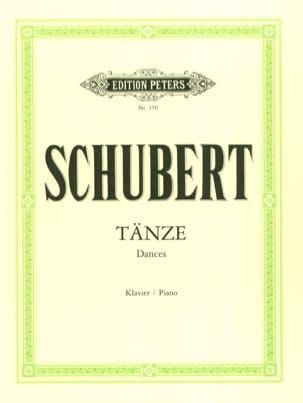 SCHUBERT - Tänze - Sheet Music - di-arezzo.com