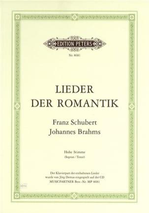 Lieder Der Romantik. Voix Haute - SCHUBERT - laflutedepan.com