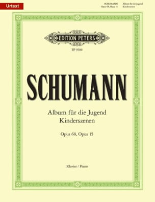 SCHUMANN - Album For Youth Opus 68 And Child Scenes Opus 15 - Sheet Music - di-arezzo.com
