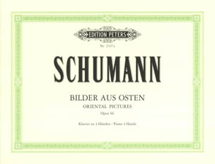 SCHUMANN - Bilder aus Osten Opus 66. 4 hands - Sheet Music - di-arezzo.co.uk
