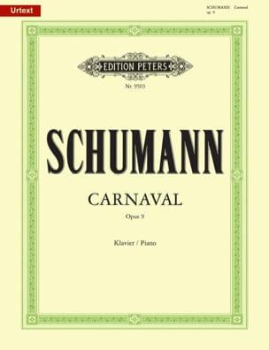 SCHUMANN - Carnival Opus 9 - Sheet Music - di-arezzo.co.uk