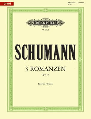 SCHUMANN - Three Romances Op. 28 - Sheet Music - di-arezzo.com