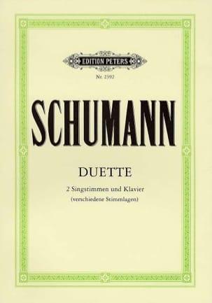 SCHUMANN - Duette - Partition - di-arezzo.fr