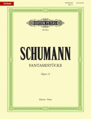 SCHUMANN - Fantasiestücke op 12. - Sheet Music - di-arezzo.co.uk