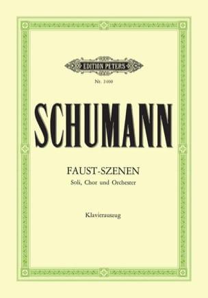 Faust-Szenen - SCHUMANN - Partition - Chœur - laflutedepan.com