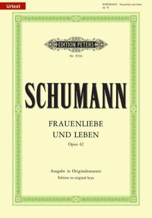 SCHUMANN - Frauenliebe Und Leben Opus 42. Voix Haute - Partition - di-arezzo.fr