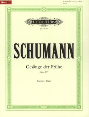 SCHUMANN - Gesänge Frühe op.133 - Partition - di-arezzo.ch