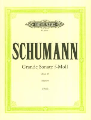 Grande Sonate Opus 14 SCHUMANN Partition Piano - laflutedepan