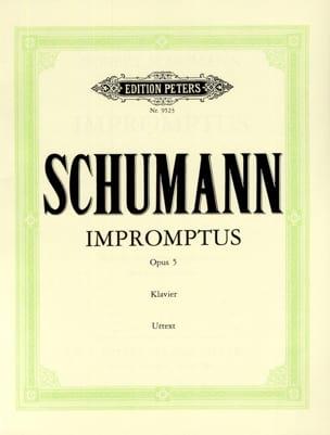 Robert Schumann - Impromptus Opus 5 - Partition - di-arezzo.fr