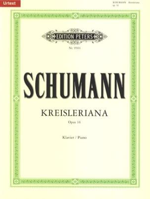 Kreisleriana Opus 16 SCHUMANN Partition Piano - laflutedepan