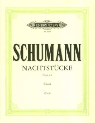Robert Schumann - Nachtstücke Op. 23 - Partition - di-arezzo.fr