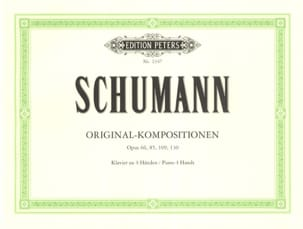 SCHUMANN - Original compositions. 4 Hands - Sheet Music - di-arezzo.co.uk