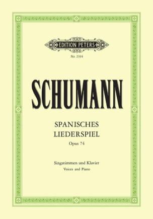 SCHUMANN - Spanisches Liederspiel Opus 74 - Sheet Music - di-arezzo.co.uk
