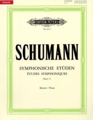 SCHUMANN - Symphonische Etüden Opus 13 - Partition - di-arezzo.fr