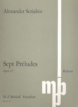 7 Préludes Opus 17 - Alexander Scriabine - laflutedepan.com